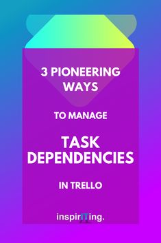 Those of us who use Trello for project management, know that tracking dependent tasks in or across boards, isn't the most fun thing to do. Board setups, working styles and organizational needs vary. But we all want to be able to keep track of the completion of tasks. In this article, I am going to lay out 3 ways of managing task dependencies in Trello boards. #Trello #PowerUp #workflows #Tracking #Tasks #Dependencies #Productivity #ProjectManagement