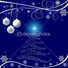 Christmas vector background by vanias - Stock Vector