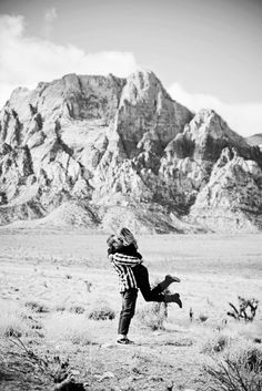 Desert Engagements Las Vegas NV Photos by Anelise Photography