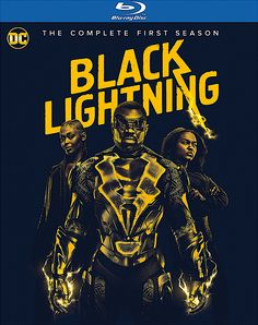 BLACK LIGHTNING THE COMPLETE FIRST SEASON BLU-RAY (WARNER)