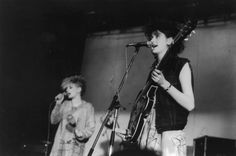 Tracey Thorn playing with her first band Marine Girls in Book Extracts, Burn It Down, Indie Pop, Memoirs, Singer, Band, Concert, Music, Girls
