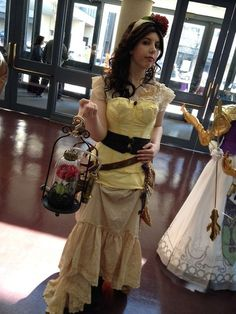 steampunk Belle - for Kelly Belle Cosplay, Disney Cosplay, Cosplay Anime, Disney Costumes, Steampunk Cosplay, Steampunk Clothing, Steampunk Fashion, Steampunk Accessories, Steampunk Couture