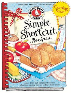 "This is my Recipes Shortcut for the @gooseberrypatch Simple Shortcut Scavenger Hunt: Simple Shortcut Recipes cookbook is full of ""almost homemade"" recipes that'll save you time in the kitchen!"