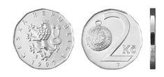 2 Kč Commemorative Coins, Money, Personalized Items, Silver