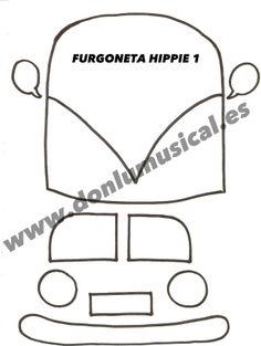 FURGONETA HIPPIE DIA DE LA PAZ DONLUMUSICAL 1
