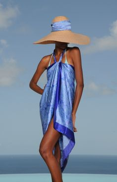 Lotty B's silk sarongs are the most wonderful I have ever felt.  And her colors are amazingly flattering.