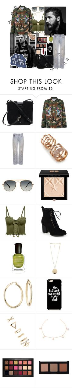 """This Is A Shout Out To @same-sunset"" by cupkatyk ❤ liked on Polyvore featuring Yves Saint Laurent, Forte Couture, Bliss and Mischief, Repossi, Ray-Ban, Givenchy, Puma, Journee Collection, Deborah Lippmann and Blue Nile"