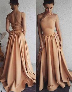 A-Line Unique long prom dress, evening dress Backless Prom Dress Chiffon S9732#promdress2018#graduationdress#2018eveningdress#dress#dresses#gowns#partydress#longpromdress