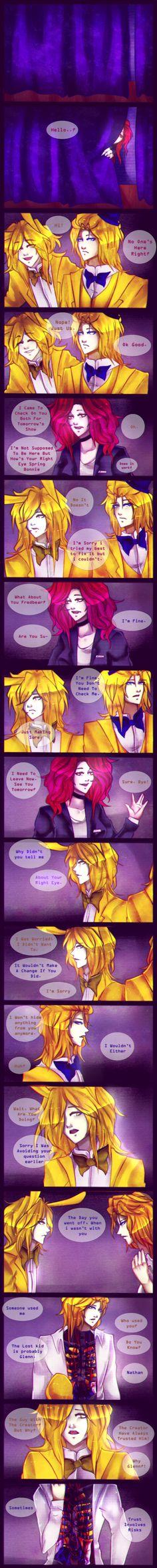 .: Lost [FNaF AU Comic] Page 5 :. by Ailurophile-Chan on DeviantArt