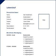 1000+ images about Lebenslauf Muster & Vorlagen on ...