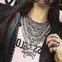 Dylanlex- I love a well stacked necklace