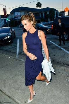 Bronzed beauty: Kate Beckinsale celebrated signing on to Underworld 5 with dinner at celeb...