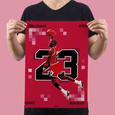 Michael Jordan Vector Illustration Print, Sports Art Print, Basketball Michael Jordan Poster by GraphicGaff on Etsy
