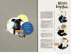 Blog: Tutorial: Using the Scout Scrapbook Kit with Anna-Maria Wolniak - Scrapbooking Kits, Paper & Supplies, Ideas & More at StudioCalico.com!