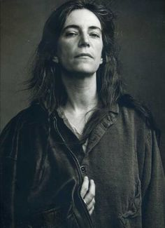 Patti Smith! Love this photo!