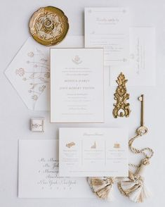 Luxury wedding invitation suite in white and gold - Wedding Time Cricut Wedding Invitations, Spring Wedding Invitations, Simple Wedding Invitations, Wedding Invitation Suite, Elegant Wedding Invitations, Wedding Stationary, Wedding Cards, Wedding White, Wedding Gold