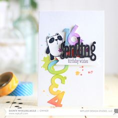 Dawn Woleslagle for Wplus9 featuring the Friends For All Seasons: Spring stamps and dies.
