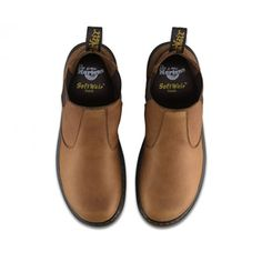 Dr Martens Mens Lyme Tan Grizzly Leather Chelsea Boots 20832220