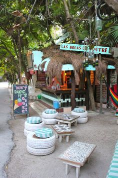 beach travel with kids A boutique Tulum hotel that delivers an exceptional experience, Ahau Tulum was the perfect home for us and our baby during our 5 day trip. Coffee Shop Design, Cafe Design, Riviera Maya, Travel With Kids, Family Travel, Deco Surf, Deco Cafe, Outdoor Restaurant, Outdoor Cafe