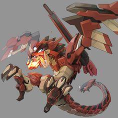 Monster Hunter Memes, Monster Hunter World, Fantasy Creatures, Mythical Creatures, Fantasy Character Design, Character Art, Armes Futures, Robot Animal, Robot Monster