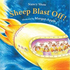 Sheep Blast Off! Upon finding a spaceship, sheep climb aboard and bumble around until they blast off into orbit. Space Preschool, Toddler Preschool, Preschool Books, Boy Toddler, Preschool Curriculum, Preschool Themes, Kindergarten, Space Books, Transportation Theme