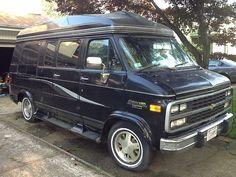 1995 Chevy G20 Custom Sherrod Van - 28,000 actual miles! Not used for 12 years…