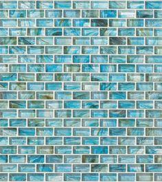 glass expressions micro blocks cs39d - azure Tile & Stone: Wall & Flooring Tiles | Shaw Floors