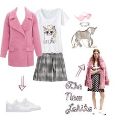 The New Lolita inspired by Elle Sweden January 2015 #loleeta #teens #grumpycat #thinkpink #unicorn