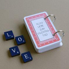52 Dinge die ich an dir liebe Karten Kartenspiel Valentinstag Geschenk selber basteln DIY Tutorial Anleitung kostenlos fertig 5