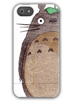 My Neighbor Totoro IPhone 5 Case by LOETZ on Etsy, $50.00