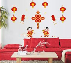 Best Price 1 Pair Monkey Door Post Wall Sticker Room House Glass Christmas Decoration Chinese New Year Removable