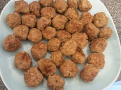Ricotta and Sage Fried Meatballs | Recipe | Ricotta, Appetizers and ...
