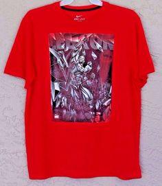 Rare Nike Dri Fit LBJ Lebron King James Super Hero Cavaliers NBA Shirt Size XL #Nike #AthleticShirt