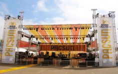 PacSun - Outdoor Concert Stage