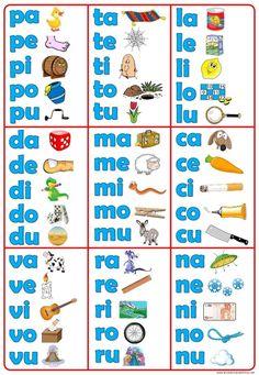 Cabula silabas - FREE - silabas posters in Spanish