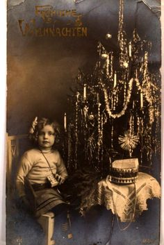 1913 rppc GIRL WITH TOY IN HAND & DRUM & CHRISTMAS TREE - Austria Postcard y0597 | eBay