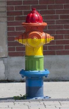 Rainbow Fire Hydrants, Fire Trucks, Roads, Rainbow, Awesome, Creative, Quotes, Projects, Crafts