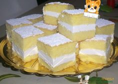 Paradise bars- tortine paradiso, I grew up eating these, they are amazing, and finally I can eat them again even in the States! Cannot wait to try these Torte Cake, Cake & Co, Homemade Desserts, Mini Desserts, I Companion, Baking Recipes, Dessert Recipes, Custard Cake, Muffin