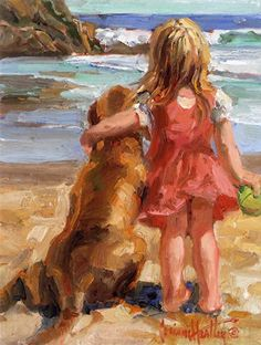 2308 Just Throw the Ball by Corinne Hartley  ~ 14 x 11