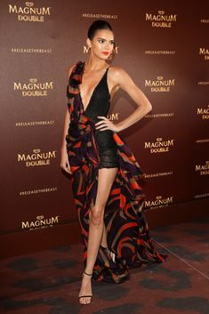 Kendall Jenner Photos - (EUROPE ONLY) Kendall Jenner attends the Magnum Doubles Party at the annual 69th Cannes Film Festival