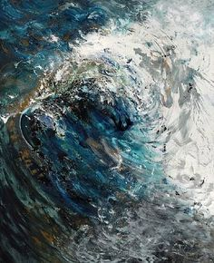 Wave Breaking, August by Maggi Hambling on artnet Maggi Hambling, Nature Drawing, Art Textile, A Level Art, Sea Art, Miguel Angel, All Nature, Seascape Paintings, Amazing Art