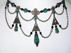 victorian chic jewelry | Victorian Jewelry - Victorian Necklace - Edwardian - Renaissance ...