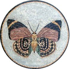 14 Butterfly Marble Mosaic Art Tile by mozaico. $100.00. Mosaics have endless uses and infinite possibilities! They can be used indoors or outdoors, be part of your kitchen, decorate your bathroom and the bottom of your pools, cover walls and ceilings, or serve as frames for mirrors and paintings.