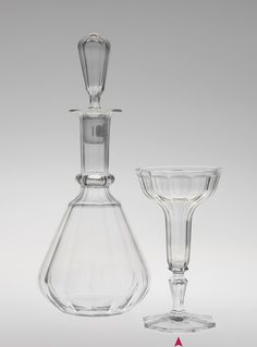 Champagne Glass by J & L Lobmeyr, Vienna, 1865.
