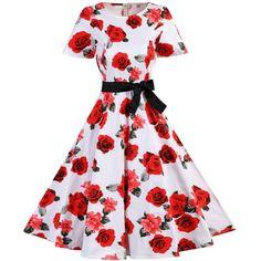 Polka Dot Vintage Dress (35 BAM) ❤ liked on Polyvore featuring dresses, dot print dress, vintage polka dot dress, spotted dress, vintage dresses and vintage day dress