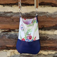DIY Upcycled Tablecloth Cross Body Mini Tote