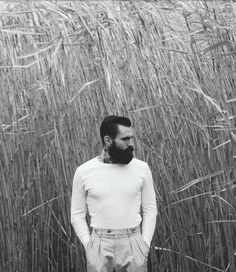 Serene male perfection. Photographer: Rebecca Naen Stylist: Ange Hughes Photography Assistant: Dom Flemming Model: Ricki Hall at Nevs, London