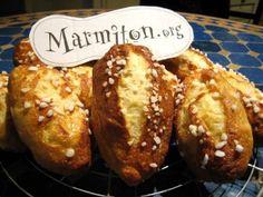 Mauricettes ou petits pains salés