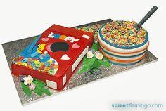 Loopy in Love | Sweet Flamingo Cake Co.  http://sweetflamingo.com/