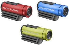 Contour launches Roam2 in red, blue, green and black, shoots 1080p video for $199